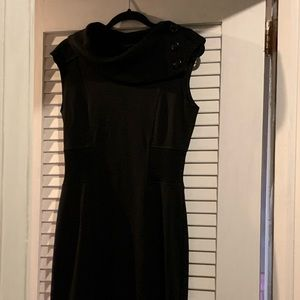 Dark Brown sweater dress